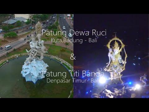 Patung Dewa Ruci Titi Banda Bali Youtube Simpang Kab Badung