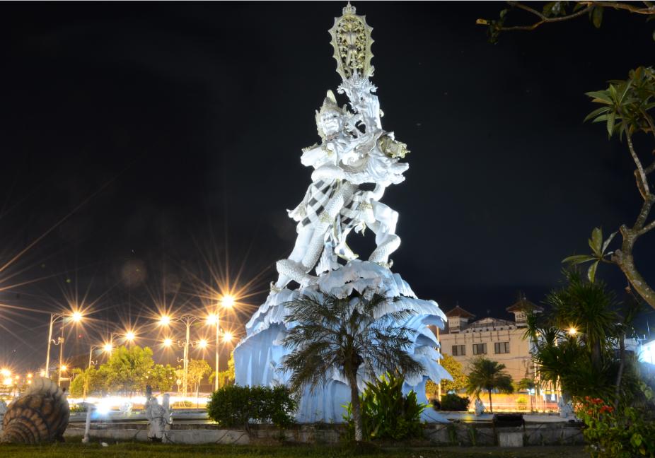 Patung Kuasa Dewa Ruci Berlibur Bali Tentunya Dijumpai Bangunan Terbilang