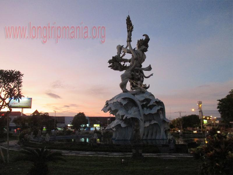 Tempat Wisata Patung Dewa Ruci Simpang Siur Kuta Bali Kab