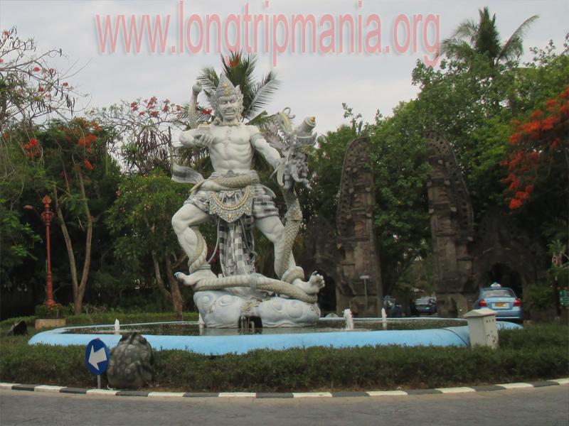 Tempat Wisata Patung Dewa Ruci Simpang Siur Kuta Bali Kawasan