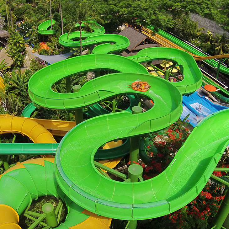 7 Places Water Recreation Bali Founders Waterbom Consciously Developed Park