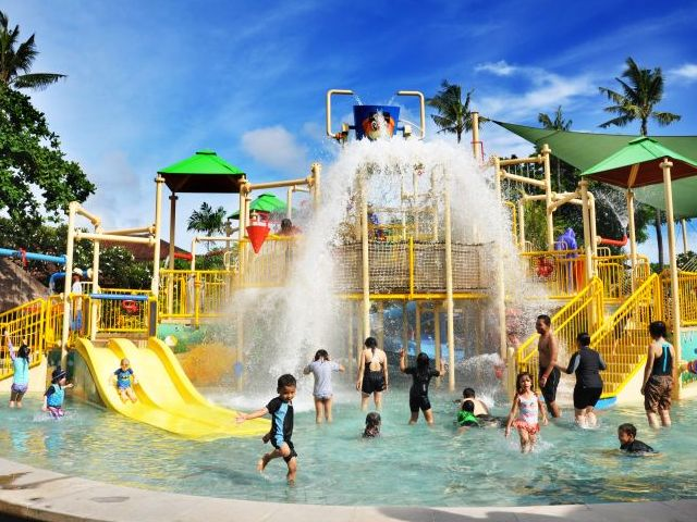 Children Bali Kids Honeycombers South Waterbom Park Kab Badung