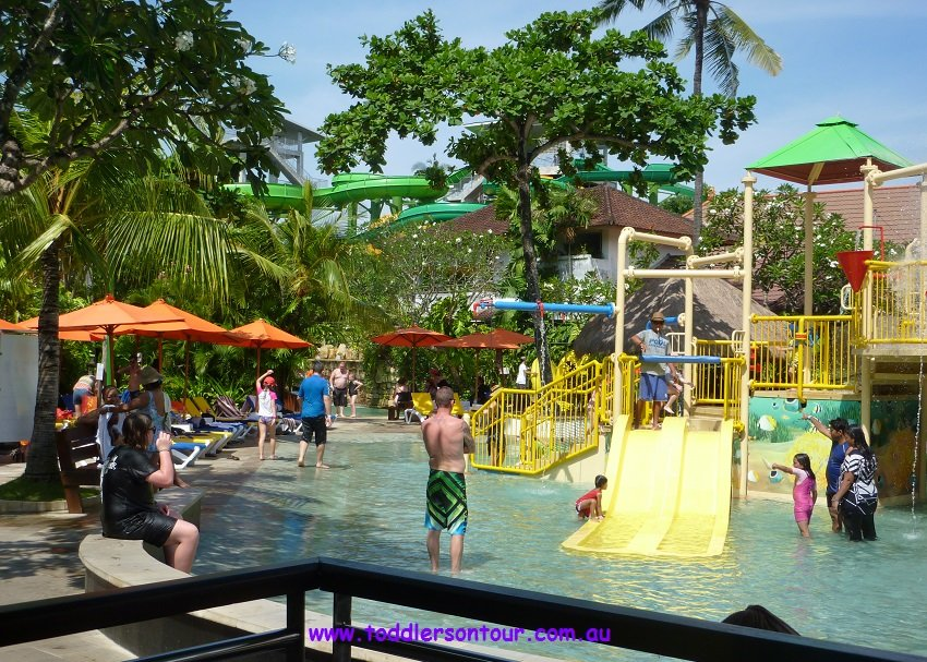 Thrills Spills Waterbom Bali Toddlers Tour Funtastic Cafe Banana Kab