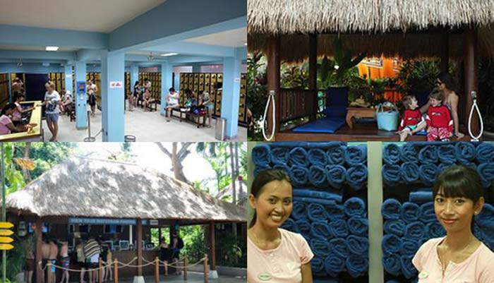 Visitor Facilities Waterbom Bali Customers Additional Charge Kab Badung