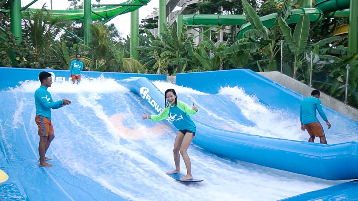 Week Bali Itinerary Lesser Side Tourists Flowrider Waterbom Kab Badung