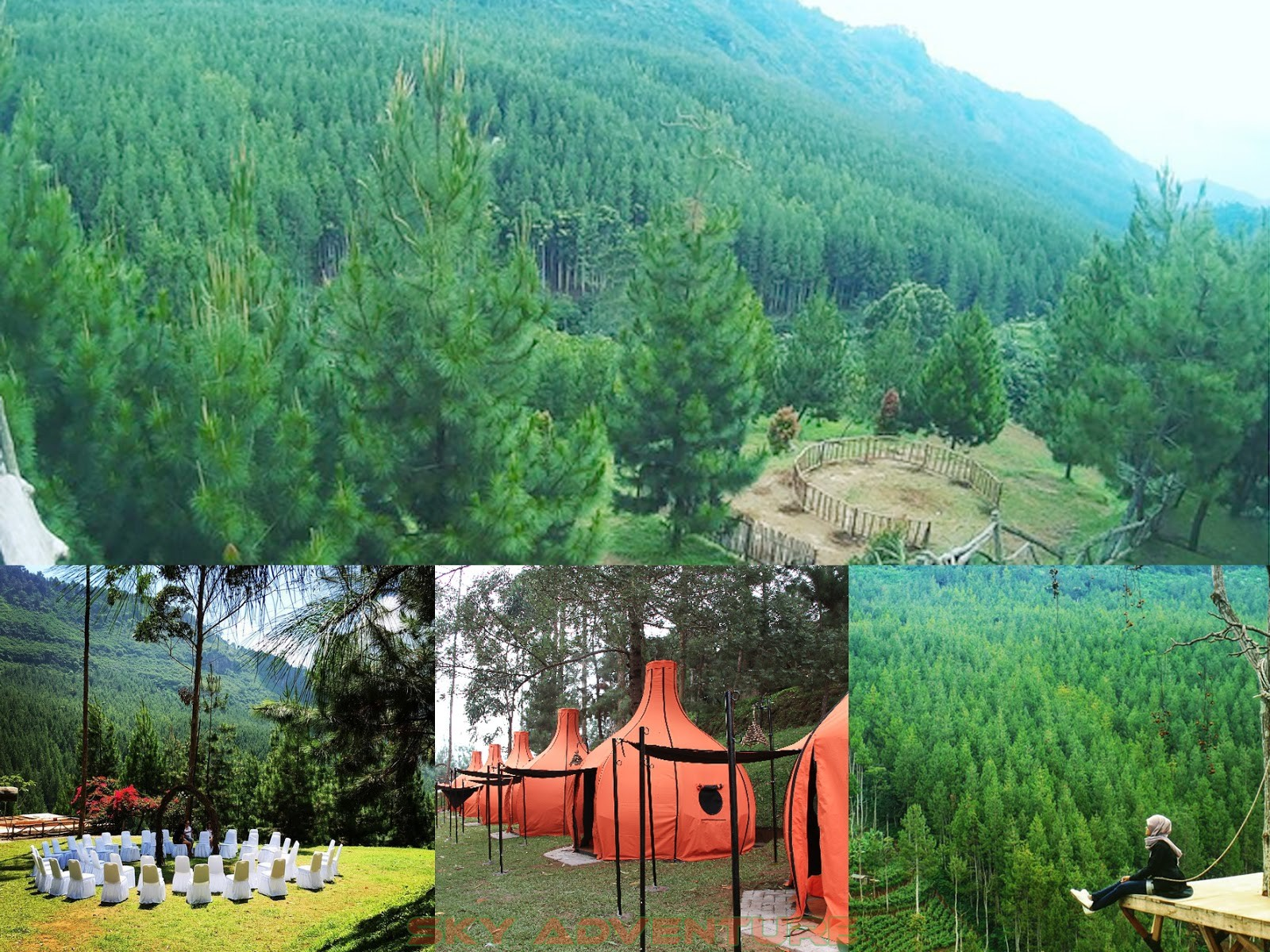 16 Tempat Outbound Lembang Bandung Terbaik Updated Lodge Kebun Teh