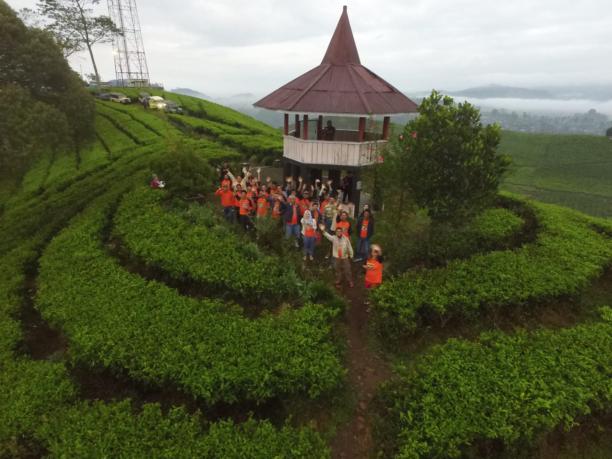 Eo Outbound Bandung Archives Geo Adventure Indonesia Kebun Teh Malabar