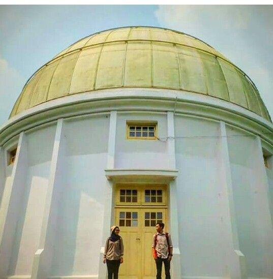 Teropong Bintang Bosscha Lembang Bandung Daftar Tempat Wisata Kebun Teh