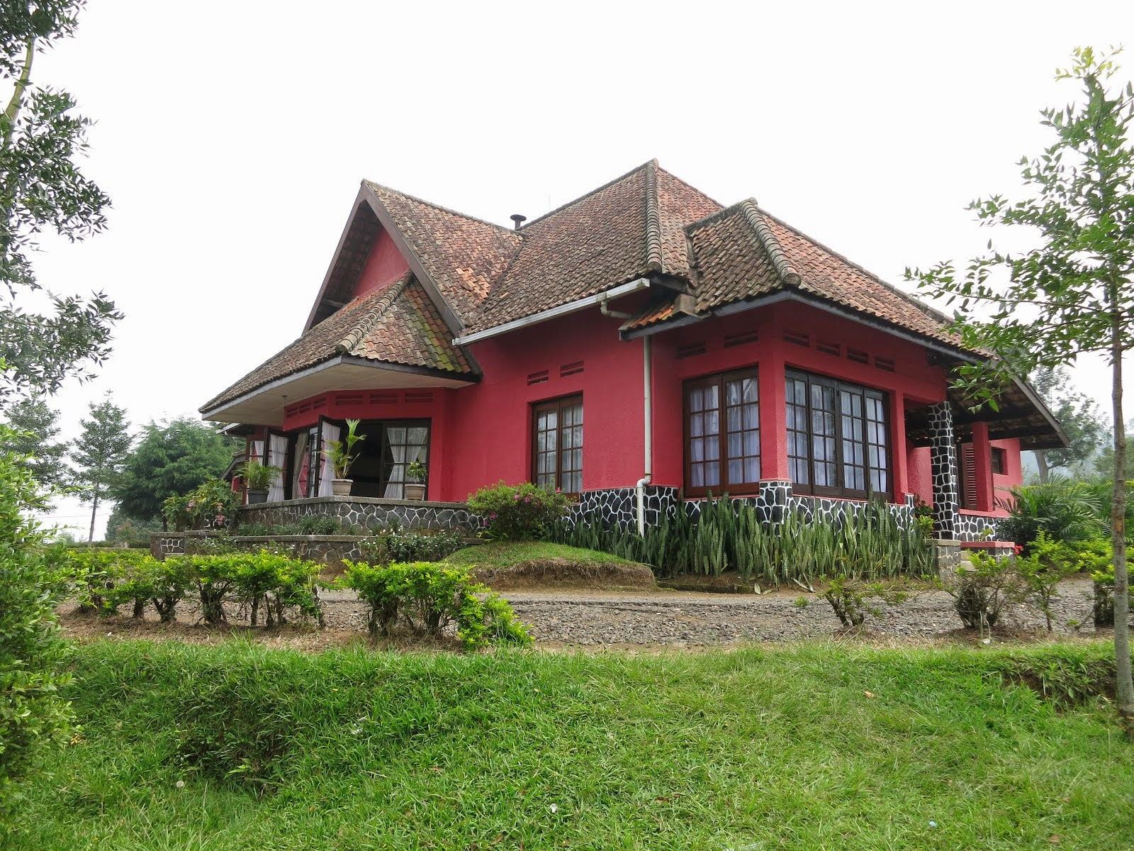 Villa Merah Sukawana Berwisata Agrowisata N8 Kebun Teh Kab Bandung
