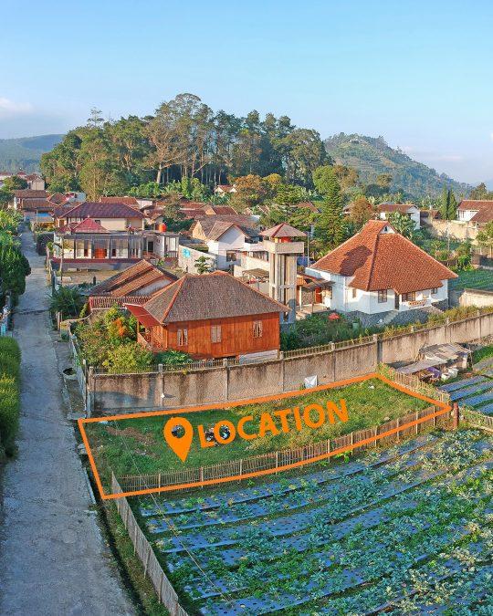 Tanah Dijual Kavling Siap Bangun 139 M2 Jayagiri Lembang Kab