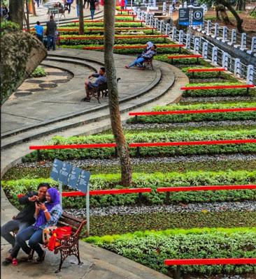 Tour Murah Bandung Utara Keindahan Taman Dewi Sartika Begonia Kab