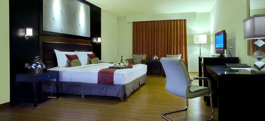 Garden Permata Hotel Deluxe Room2 Taman Nuart Sculpture Kab Bandung