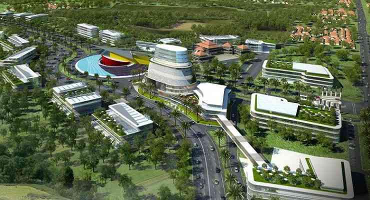 Kota Parahyangan Padalarang Punya Wisata Taman Nuart Sculpture Kab Bandung