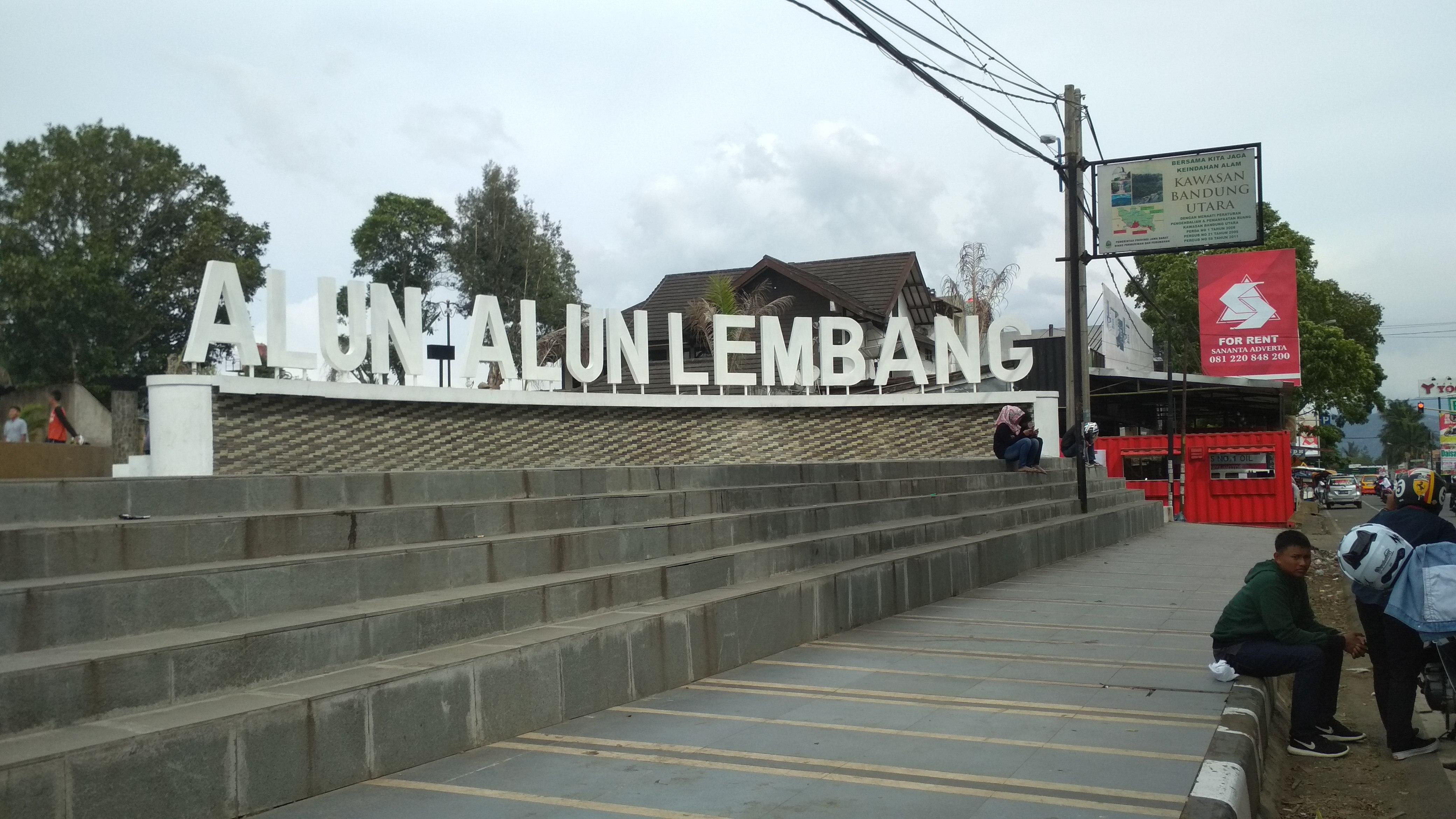 Alun Kecamatan Lembang Tampil Cantik Setelah Permak Nova News Bandung