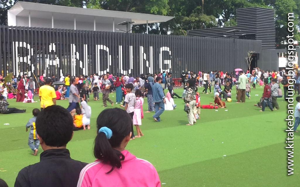 Alun Kota Bandung Kita Kebandung Wisata Kab
