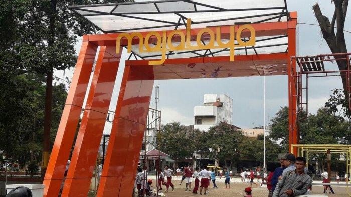 Alun Majalaya Bakal Tambah Cantik Monumen Pun Bertambah Bandung Kab