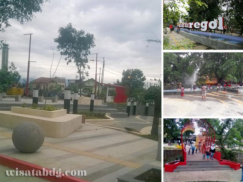 Alun Regol Wisata Area Publik Pasirluyu Bandung Kab