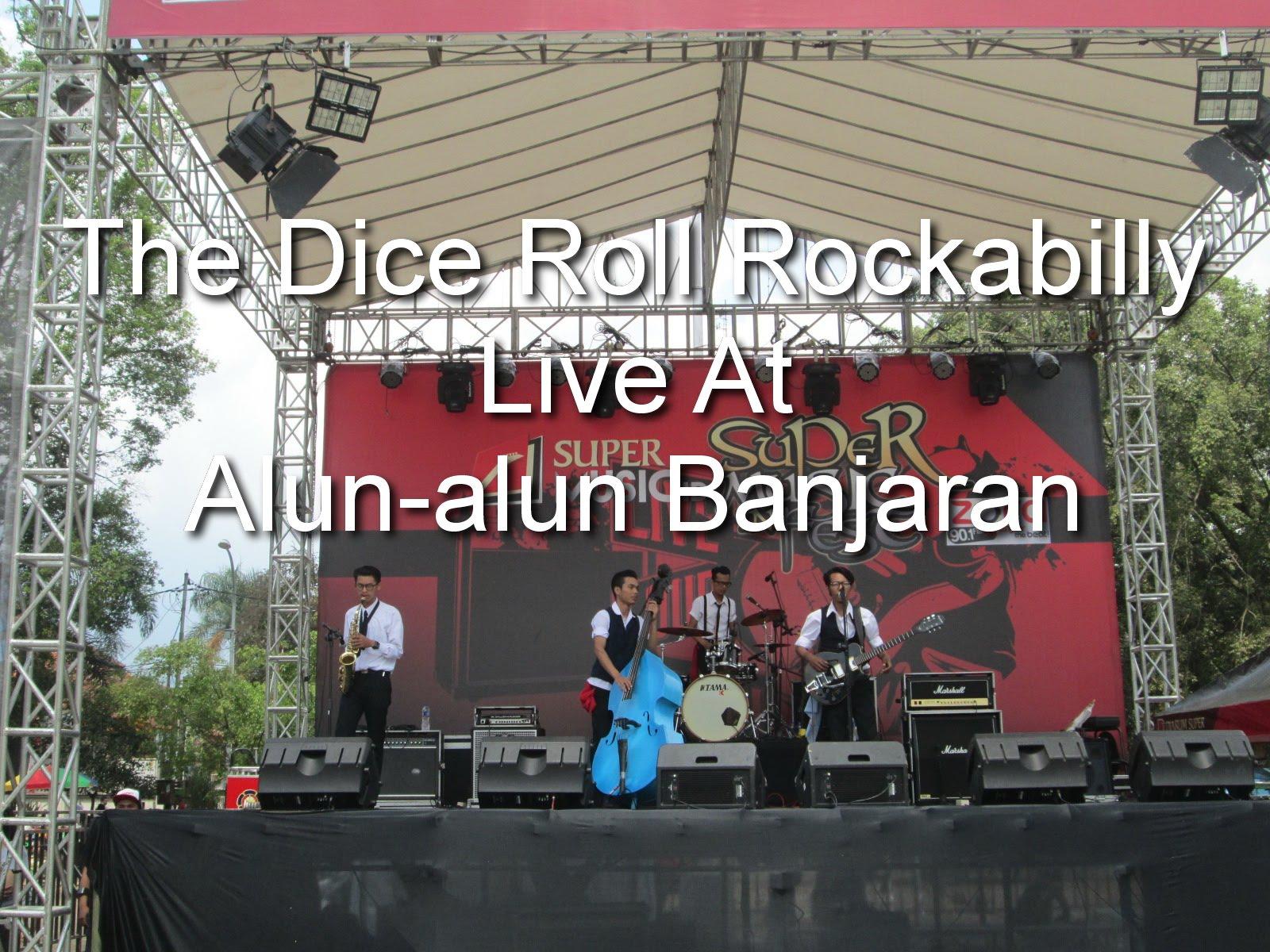 Dice Roll Rockabilly Live Alun Banjaran Kab Bandung Youtube