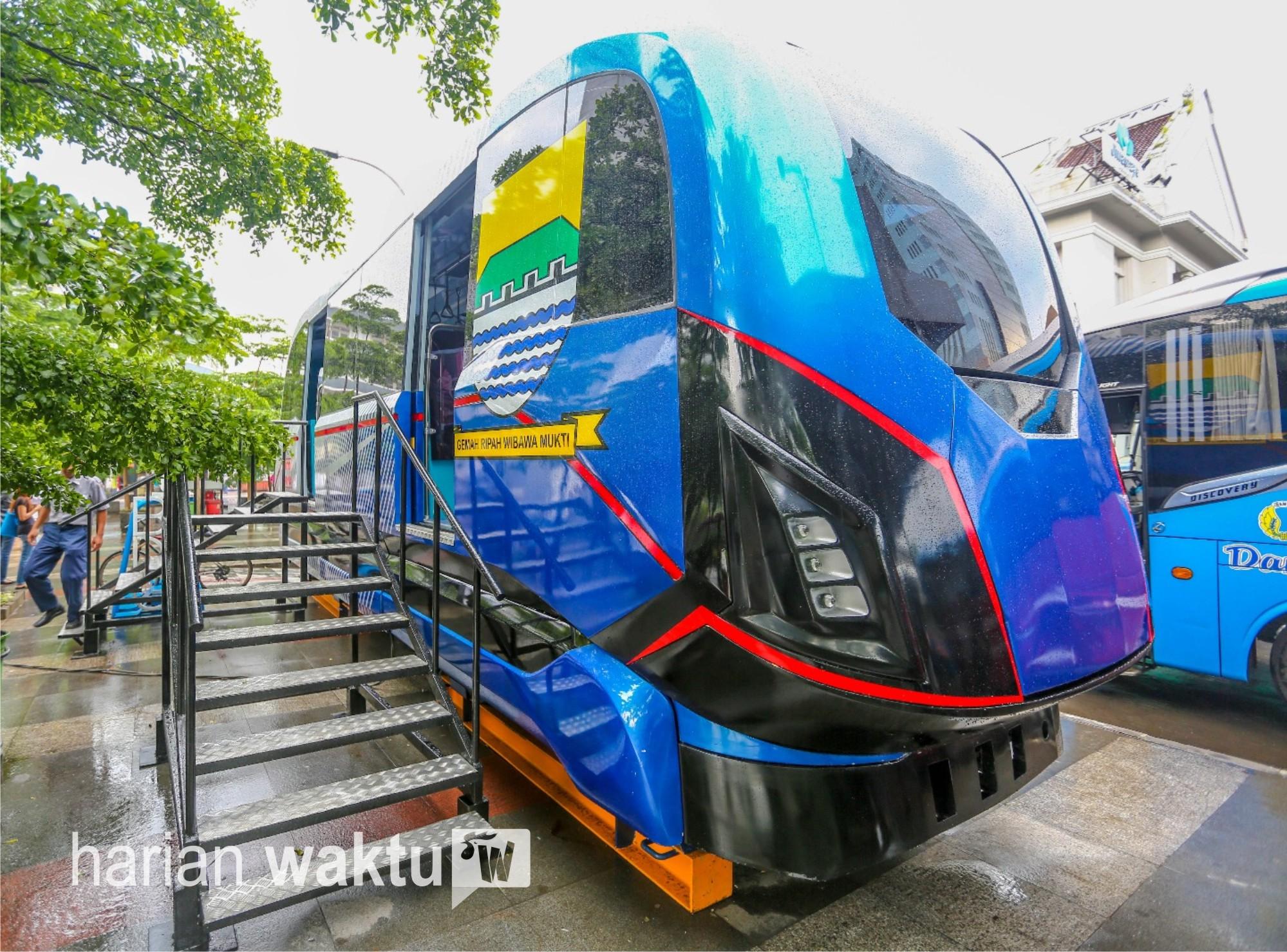 Mimpi Urang Bandung Segera Terwujud Prototipe Metro Kapsul Dipajang Pembangunannya