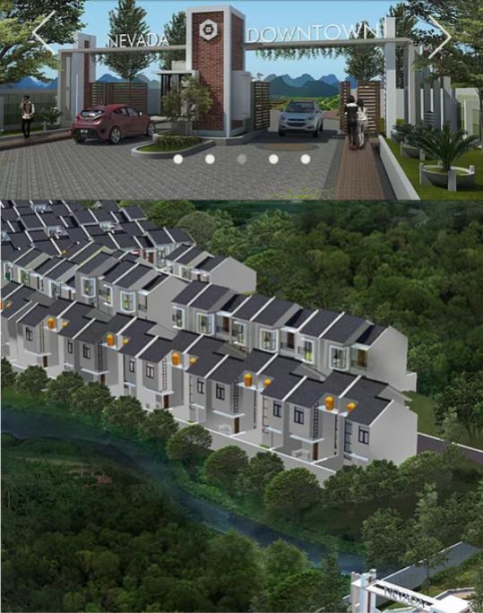 Rumah Dijual Dekat Alun Kota Cimahi Bandung Barat Kab