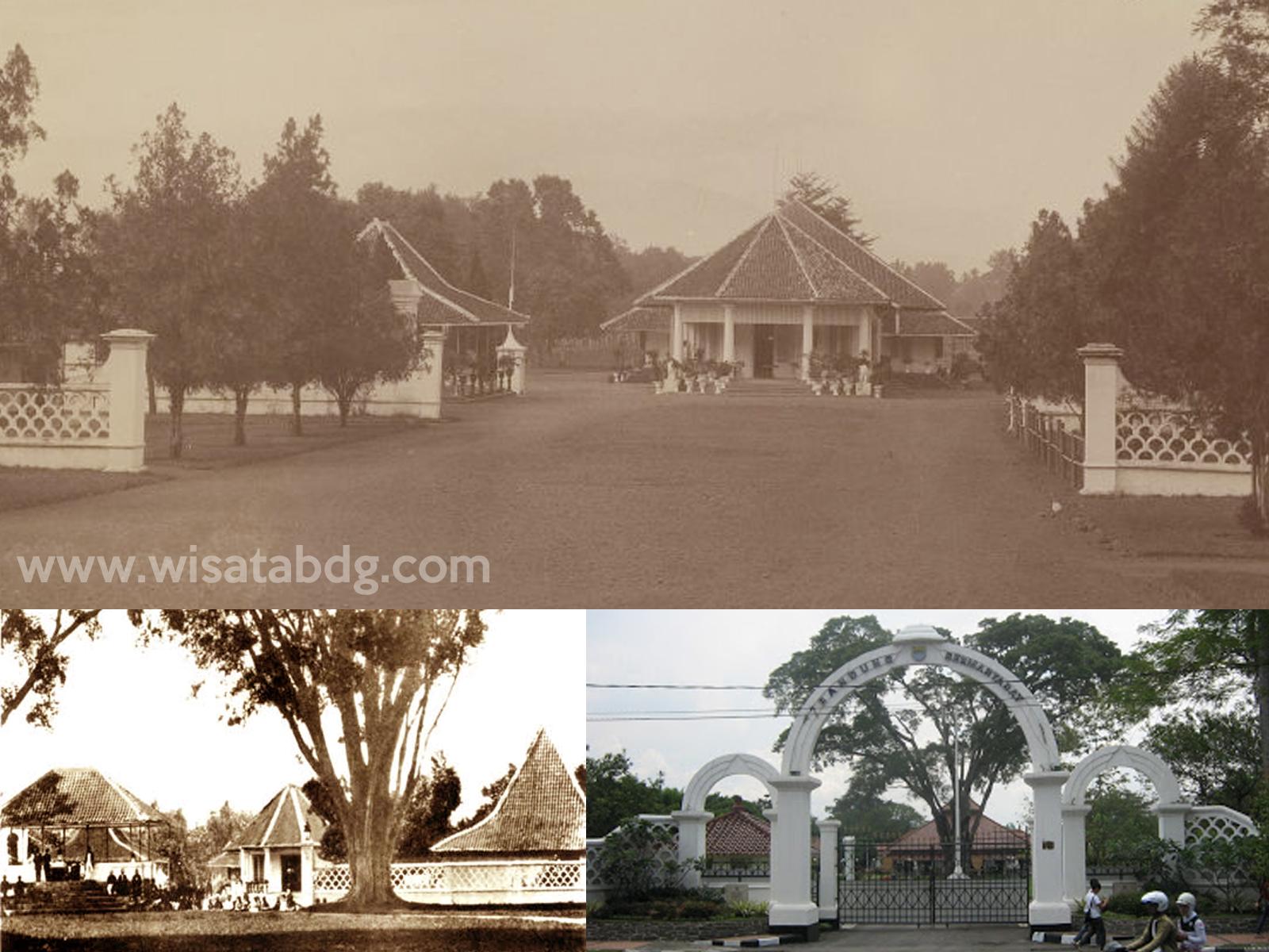 Sejarah Pendopo Alun Bandung Wisata Kota Kab