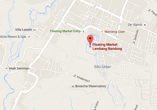 Awesome Market Called Floating Lembang 2bmap Bosscha Observatory Kab Bandung