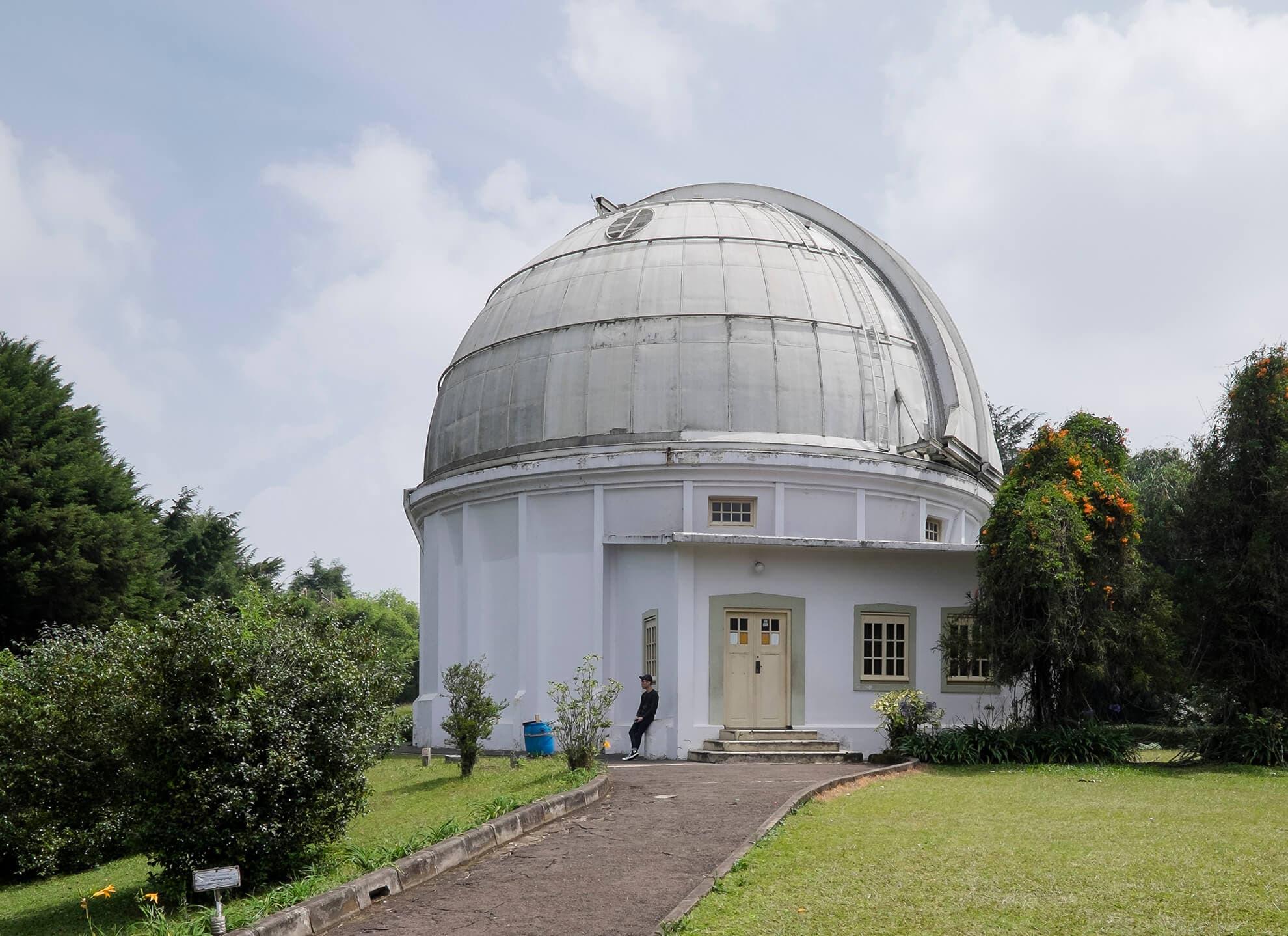 Bosscha Observatory Cities Unveiled Kab Bandung