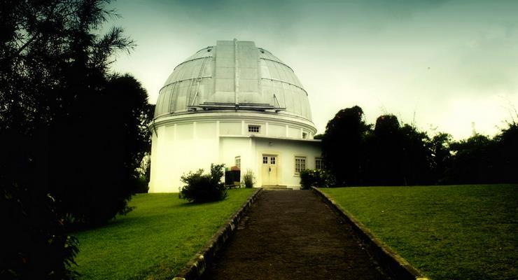Menambah Pengetahuan Objek Wisata Boscha Bandung Sebandung Bosscha Observatory Kab