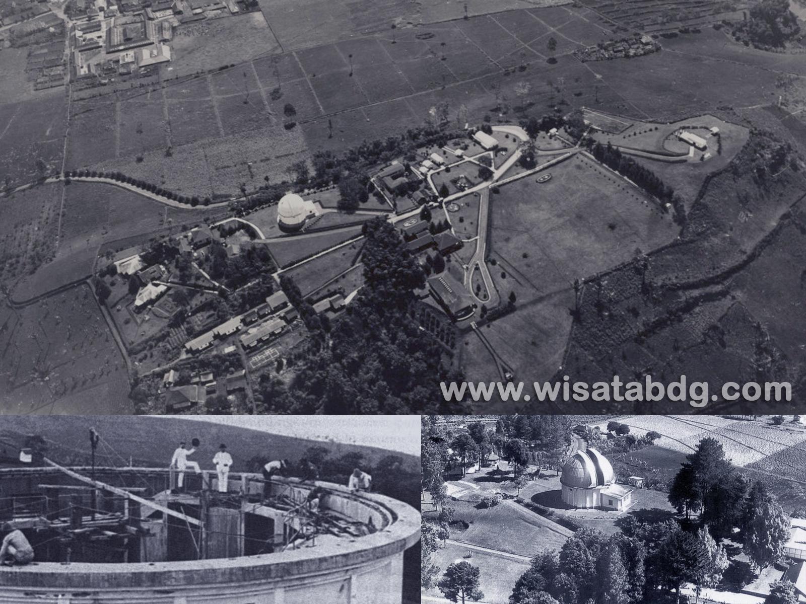 Sejarah Observatorium Bosscha Lembang Wisata Bandung Observatory Kab