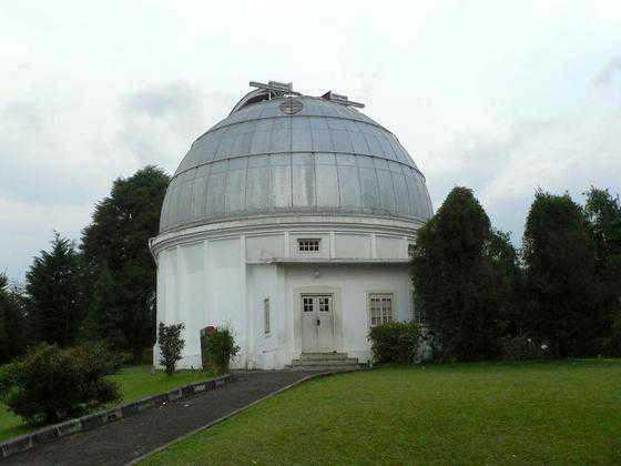 Tempat Wisata Bandung Lembang Bosscha Observatory Kab