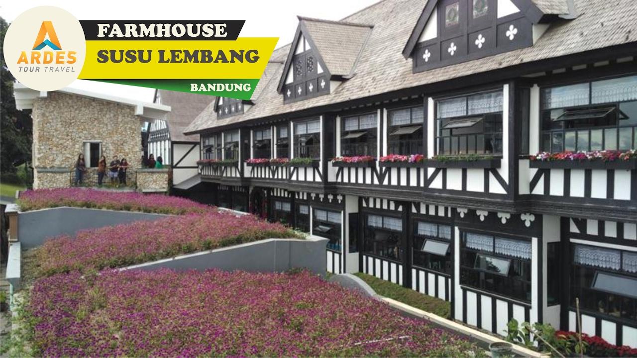 Romantisnya Liburan Farmhouse Susu Lembang Ala Ardes Tour Romantic Place