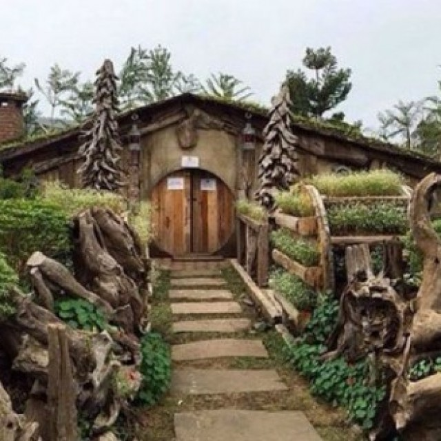 Rumah Hobbit Farmhouse Lembang Info Tempat Wisata Gaya Hidup Picture