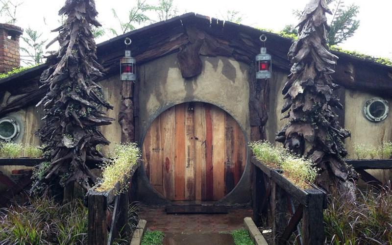 Rumah Hobbits Farm House Susu Lembang Bandung Farmhouse Kab