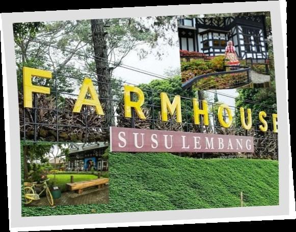 Wisata Alam Pedesaan Ala Eropa Farmhouse Lembang Bandung Kab