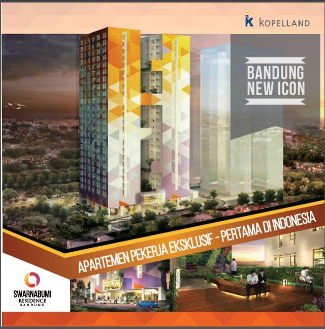 Apartemen Dijual Wowww Beli Swarnabumi Kantor Dekat Gedung Sate Bandung