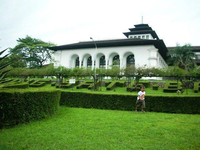 Gedung Sate Bandung Office Building Government Kab