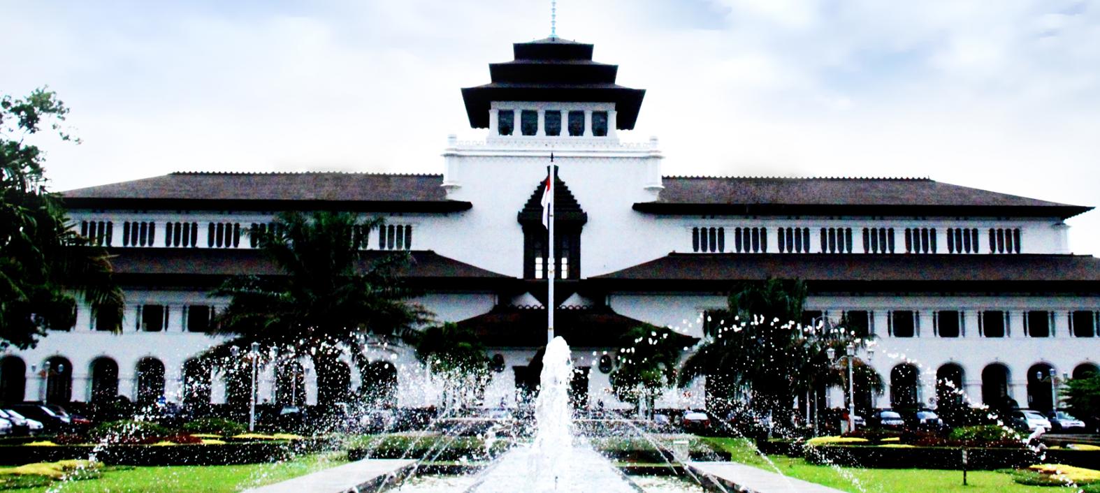 Gedung Sate Sma Bina Negara 1 Baleendah Bandung Kab