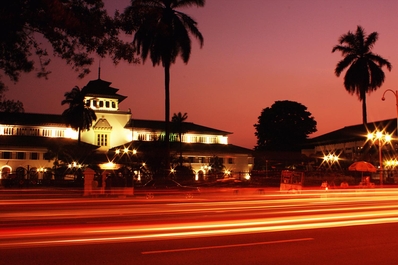 Lanscape Gedung Sate Bandung Kab