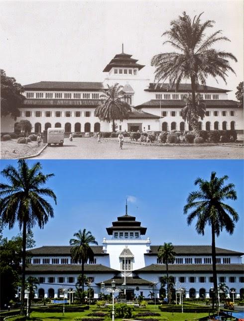 Wisata 5 Gedung Tua Bandung Tempo Dulu Mengenal Sate Kab