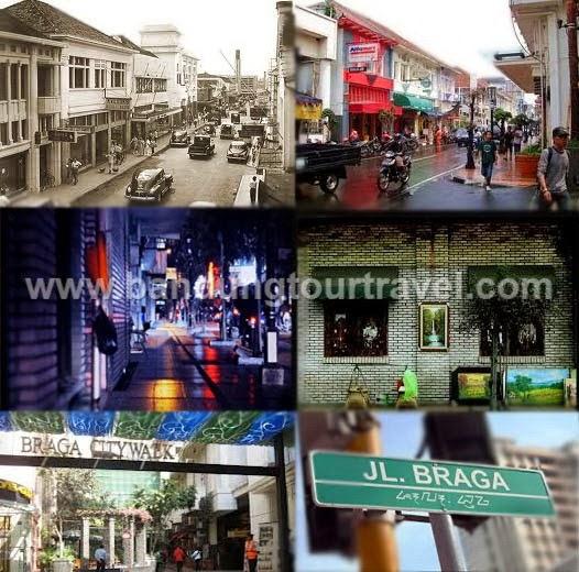 Bandung Tour Travel Braga City Walk Obyek Wisata Jalan Kab