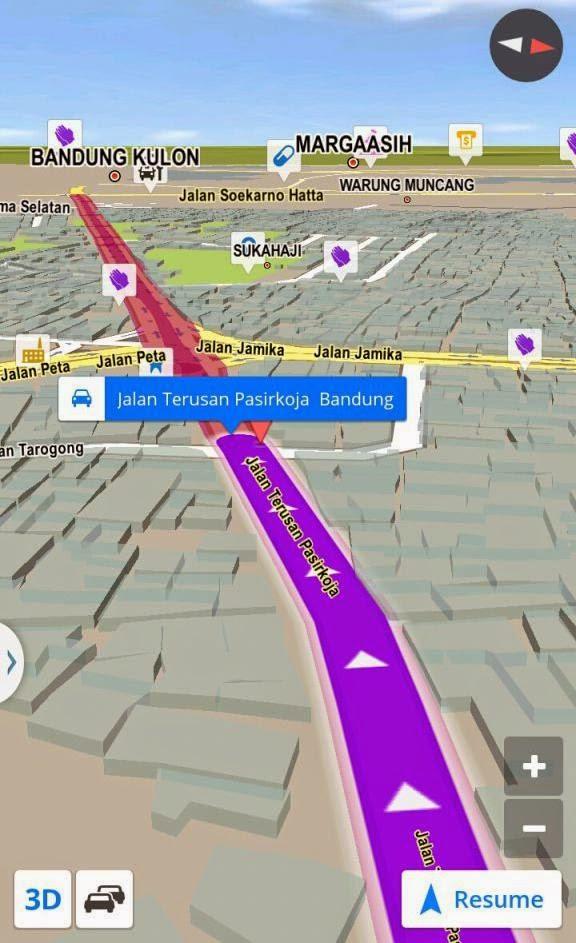 Map Petunjuk Jalan Braga Pasirkoja Bandung Kita Rute Kab