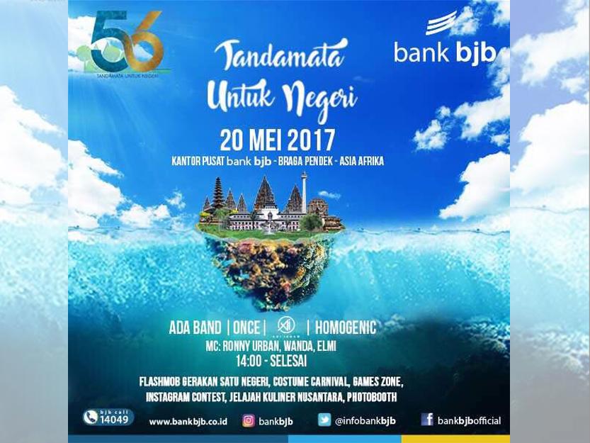 Tandamata Negeri Perayaan Hut 56 Bank Bjb Jln Braga Event