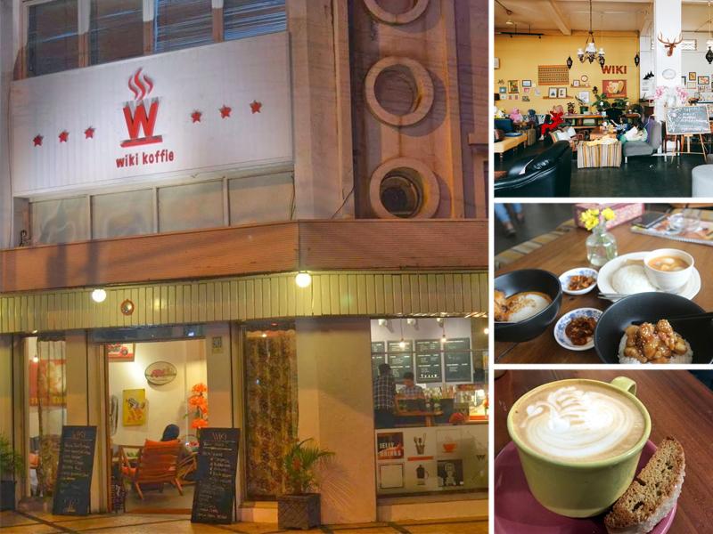 Wiki Koffie Tempat Nongkrong Pilihan Wisatawan Jalan Braga Wikie Bandung