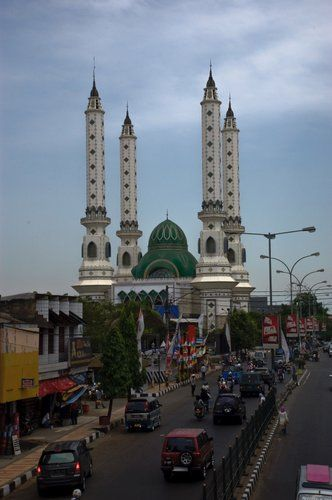 59 Mosque Indonesia Images Pinterest Beautiful Mosques Masjid Agung Cilegon
