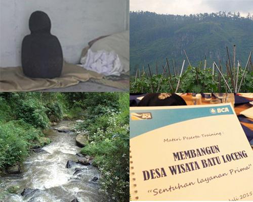 Desa Wisata Batu Loceng Lembang Kabupaten Bandung Barat Baiknya Museum
