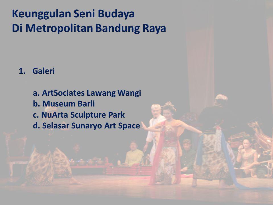 Kawasan Seni Budaya Metropolitan Bandung Raya Ppt Download Keunggulan Museum
