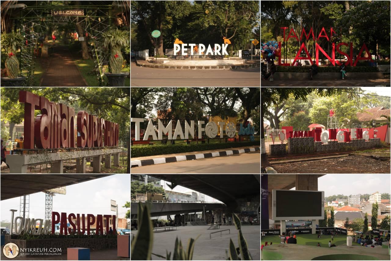 Pariwisata Husein Sastranegara Airport Taman Tematik Lokasi Terletak Berbagai Sudut