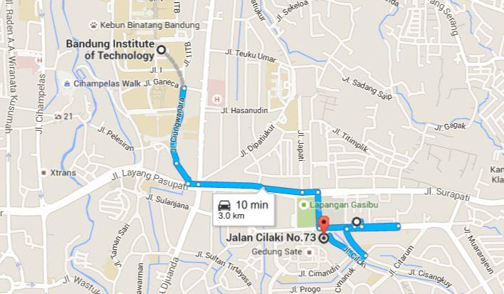Jalan Museum Pos Geologi Journey Bandung Kab