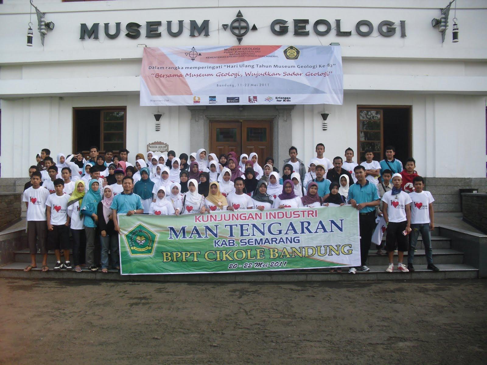 Man Tengaran Kab Semarang Study Tour Museum Geologi Bandung