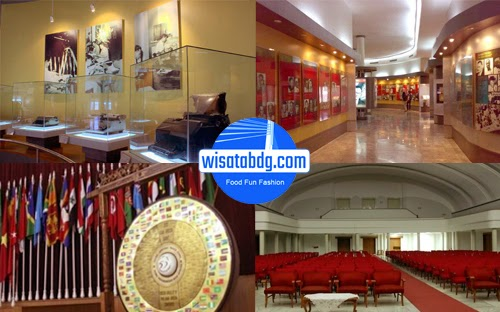 Inilah Bagian Museum Konferensi Asia Afrika Wisata Kab Bandung